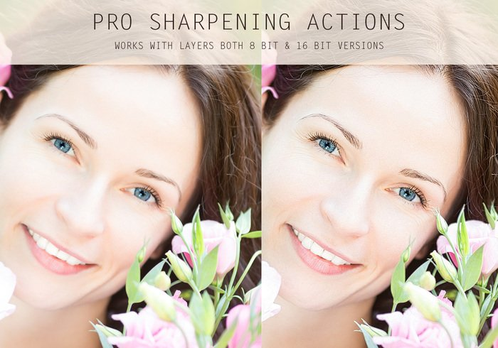 PS专业锐化动作 Pro Sharpening Actions