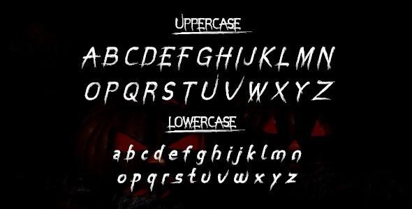 Miztix字体适用于海报,产品包装,电影,等设计场景。个人认为该字体画风奇特,用于恐怖类作品的话也是非常适合的,另外该字体有点像魔爪饮料包装上的那种。