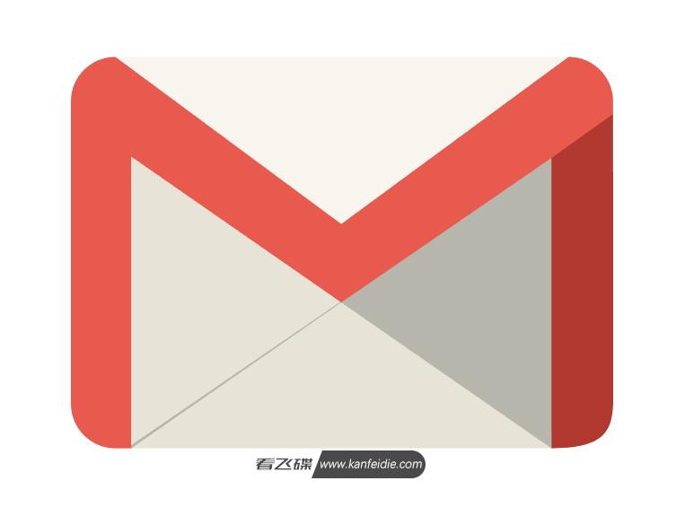 Gmail 新版LOGO图标矢量图免费下载