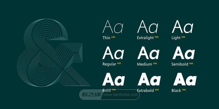 Creo字体