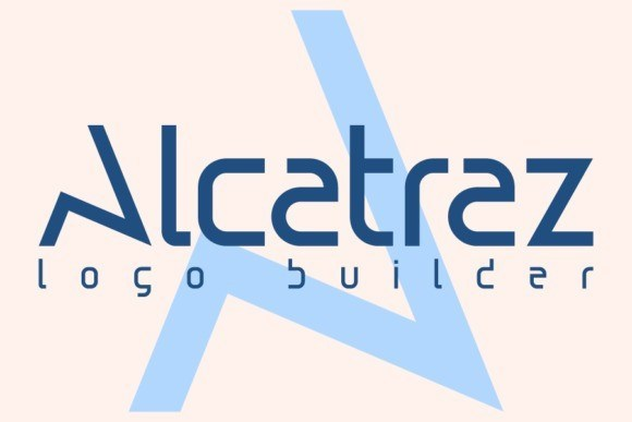 Alcatraz设计专用装饰性英文字体下载