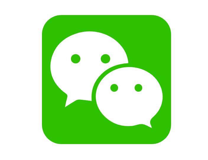 微信(WeChat)图标矢量素材免费下载