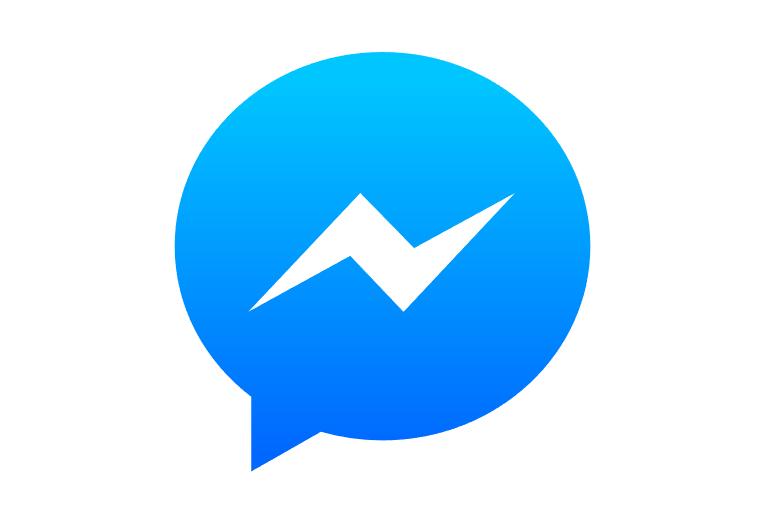 脸书(Facebook Messenger)矢量图标LOGO素材设计图下载