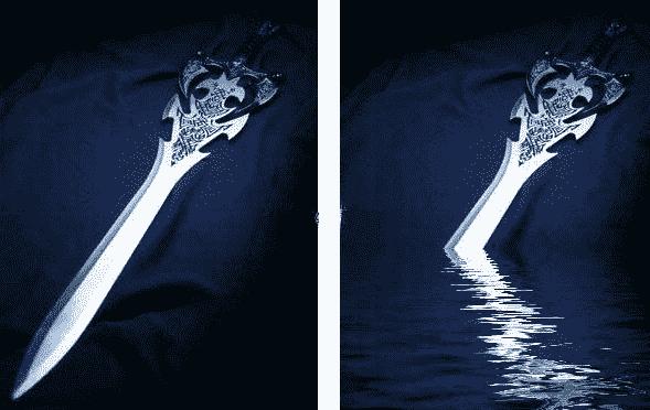 快速生成水波纹倒影 水之语PS插件滤镜