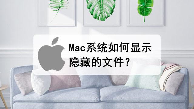 Mac OS系统显示隐藏文件的详细方法步骤
